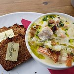 It's a real Doolin chowder. The best local ingredients every day.