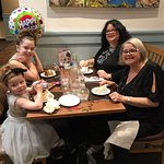 We had a birthday and lovely cake and balloon provided at reasonable cost