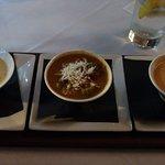 Flight of soups