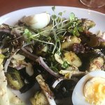 Moby's Pub - brussel sprout salad