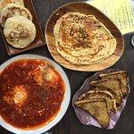 Hummus and Shakshuka
