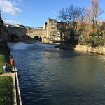 View of Pulteney Bridge and the Weir from Parade Gardens