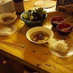 The famous Bun Cha dish. Delicious