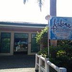 the resort's own restaurant