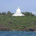peace pagoda unawatuna