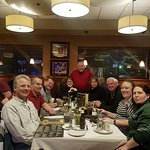 The crew from Garland Lodge & Golf Resort out to dinner after the Michigan Golf Show in Novi!