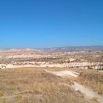 View towards Cavusin