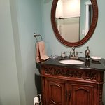 Antique Granite topped vanity
