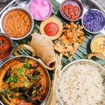 The Chilli Pickle King Thali is expertly spiced.