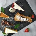 Over a dozen rotating desserts!
