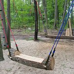 We have swings for all ages.