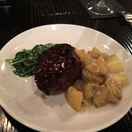 Chophouse Filet with creamed spinach and Dutch potato risotto