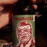 Cerveja com pimenta de produção própria do bar
