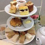 Delicious Afternoon Tea with home baked cakes
