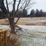 Wide open fields in winter!