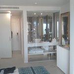 Shower room from bedroom
