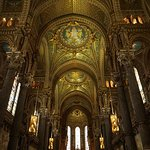 Interior of Notre Dame de Fourviere