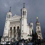 Exterior of Notre Dame de Fourviere