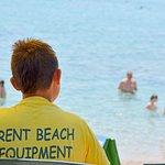 Rent beach equipment at Ratak beach.