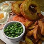 Gammon, Egg & Chips