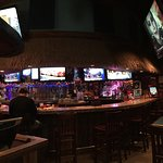 The bar at Mellow Mushroom