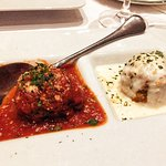 Classic Meatballs Sugo pomodoro & four cheese sauce- as always very nicely done