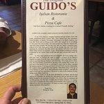 Billede af Guido's Pizza Cafe