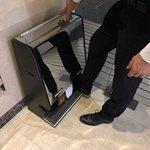 maquina para lustrar zapatos