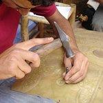 Brass carving workshop