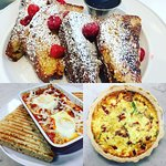 Brunch available on Saturdays only!