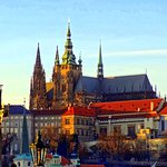 Prague Castle - photo from our Night tour.