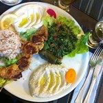 L'assiette syrienne au délicieux taboulé