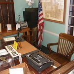"Sheriff Taylor's desk from ""The Andy Griffith Show"" is only one of many artifacts from the show."