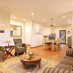 Bush Cottage - sitting/dining/kitchen