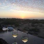 sunset over Ningaloo Reef