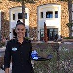 Sports Bar waitress Danira