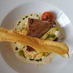 menu TGV, poisson du jour