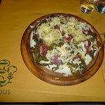 Polenta biancoperla con stortina, broccoletti e formaggio monte veronese