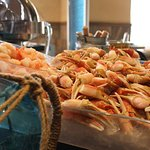 Seafood Bounty at Sunday Brunch