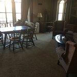 Castle Room Suite, meeting area.