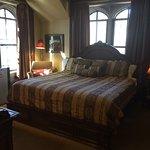 Castle room suite, bedroom.