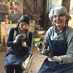 Tadelakt on pottery workshop