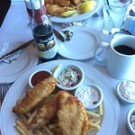 Fish n chips, sorry already had the clam chowder