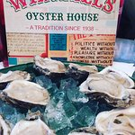 Raw oysters in the half-shell...the only way to go!!!