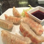 Dumplings, Ondori Asian Kitchen, New Orleans Casino, Las Vegas, NV