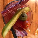 Bacon Bloody Mary Garnish