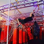 Swing To Cargo Net