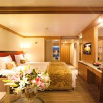Every Cabin features with Private Balcony