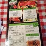 Sal's menu