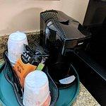 Pod style coffeemaker